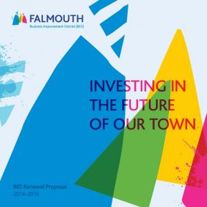 INVESTING IN THE FUTURE OF OUR TOWN
