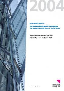 Investkredit Bank AG
