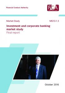 Investment and corporate banking market study Final report