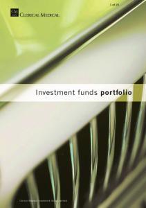 Investment funds portfolio