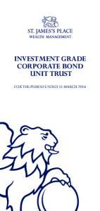 investment grade corporate bond