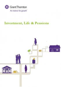 Investment, Life & Pensions