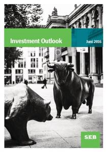 Investment Outlook. Juni 2016