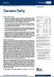 Investment Research General Market Conditions 18 December 2014