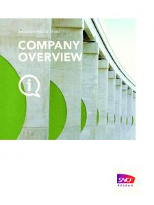 INVESTOR PRESENTATION COMPANY OVERVIEW
