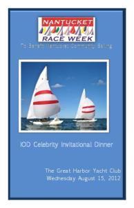 IOD Celebrity Invitational Dinner
