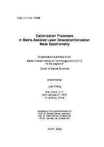 Ionization Mass Spectrometry
