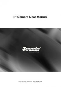 IP Camera User Manual