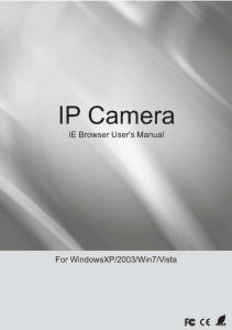 IP Camera User s Manual