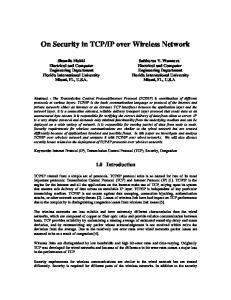 IP over Wireless Network