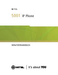 IP Phone BENUTZERHANDBUCH