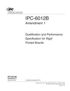 IPC-6012B Amendment 1
