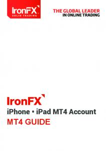 iphone ipad MT4 Account MT4 GUIDE
