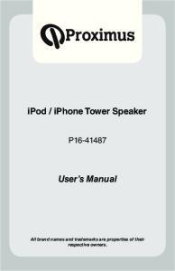 iphone Tower Speaker