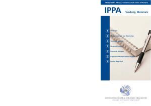 IPPA Teaching Materials
