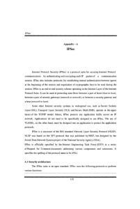 IPSec. IPSec. Appendix - A