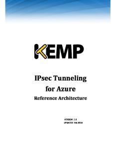 IPsec Tunneling for Azure
