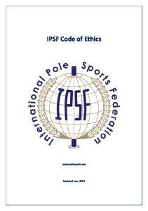 IPSF Code of Ethics
