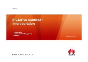IPv6 multicast interoperation