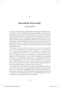 Iran and the Aryan myth*