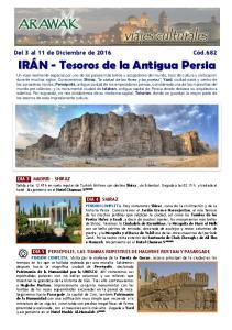 IRÁN - Tesoros de la Antigua Persia