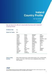 Ireland Country Profile