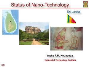 Iresha R.M. Kottegoda Industrial Technology Institute