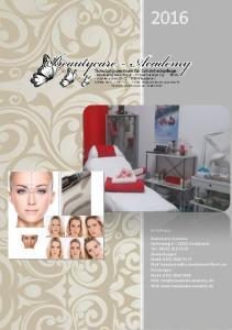 Irina Mazur Beautycare Academy Hufnerweg Geesthacht Tel.: Anwendungen: Mobil: Mail: