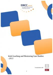 Irish Coaching and Mentoring Case Studies In association with