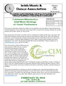 Irish Music & Dance Association