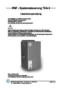 IRM - Systemsteuerung TEA-3