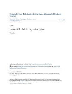 Irreversible: Motivos y estrategias