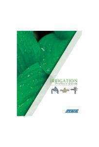 IRRIGATION. Product Guide