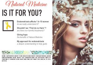 IS IT FOR YOU? Natural Medicine
