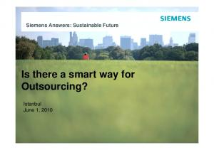 Is there a smart way for Outsourcing?