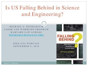 Is US Falling Behind in Science and Engineering?