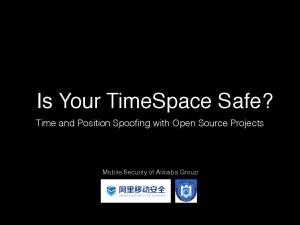 Is Your TimeSpace Safe?