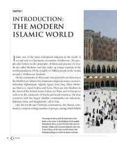 Islam, one of the most widespread religions in the world, is