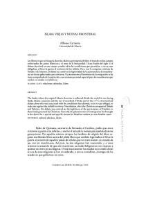 ISLAM: VIEJAS Y NUEVAS FRONTERAS. Alfonso Carmona Universidad de Murcia