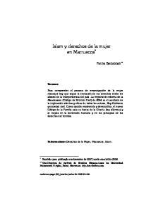 Islam y derechos de la mujer en Marruecos *