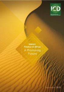 Islamic Finance in Africa: A Promising Future