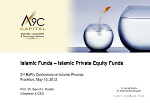Islamic Funds Islamic Private Equity Funds