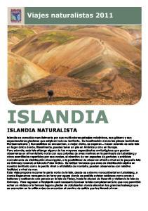 ISLANDIA ISLANDIA NATURALISTA