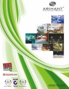 ISO 9001 ISO ARIHANT LED LIGHTS  I  a new technology in LED lighting. Cert. No