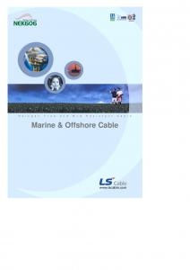 ISO9001. Marine & Offshore Cable