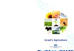 Israel s Agriculture Israel s Agriculture