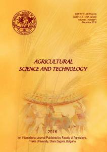 ISSN X (online) Volume 8, Number 4 December 2016