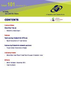 Issue 101, December 2011