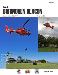 Issue 38 BORINQUEN BEACON. Photographs by: Matt. Youth Soccer Information P3-4 Beacon Update P6 Community Center Updates P9 Movies P11-13