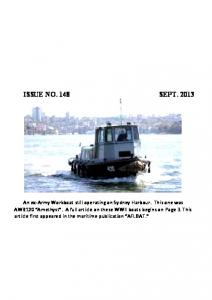 ISSUE NO. 148 SEPT. 2013